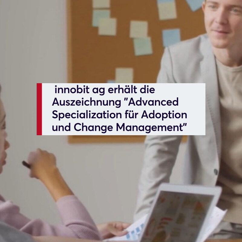 Advanced Specialisation - innobit ag