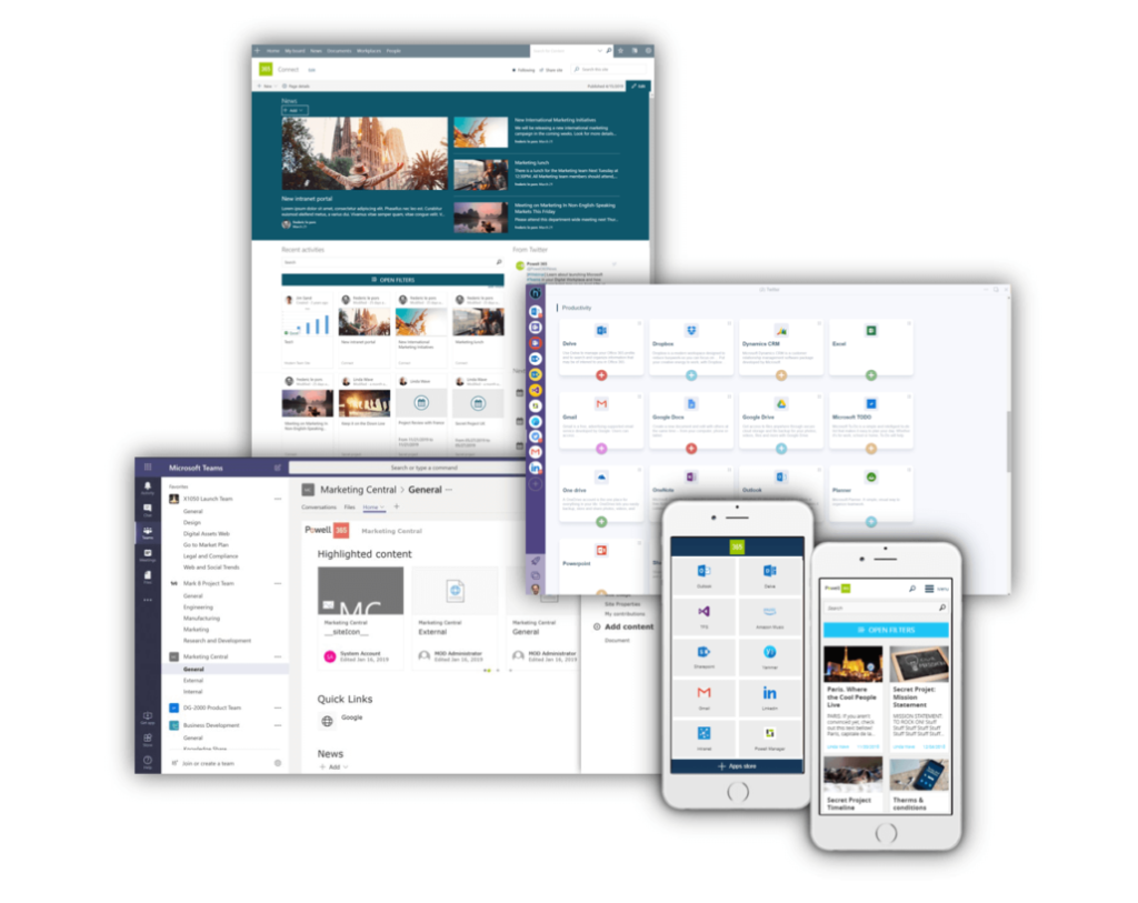 Digital Workplace Portal - innobit ag