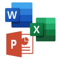 Word Excel PowerPoint Logo